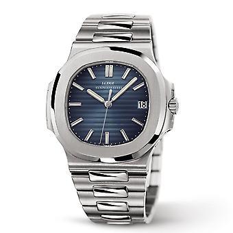 Hoogwaardige mode alle stalen heren's quartz horloge