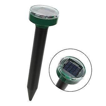 Household Garden Yard Pest Repeller Mole Frastødende Udendørs Have Solar Power Ultralyd For Snake Bird Mosquito Mouse