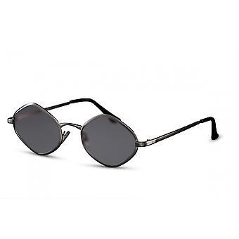 Sunglasses Unisex oval Cat.3 black (CWI2297)