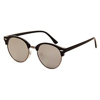 Sunglasses Unisex black with mirror lens (AZ-2160)