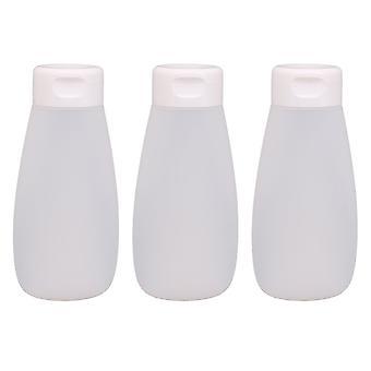 3pcs 200ML PE Clamshell Type Travel Bottles
