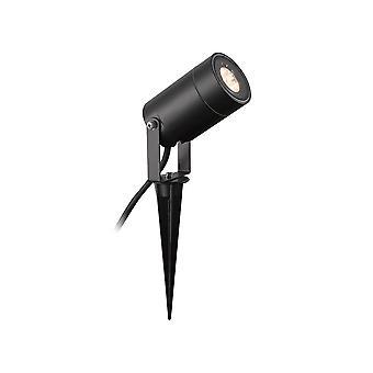 Luminosa Valaistus - Spike Light, 1 x GU10 , IP65, Musta