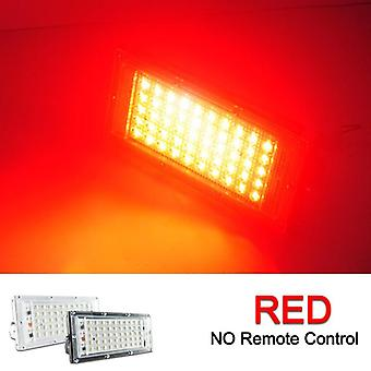 Led Floodlight Reflector With Remote Waterproof - Ip65 Outdoor Garden Led Spotlight