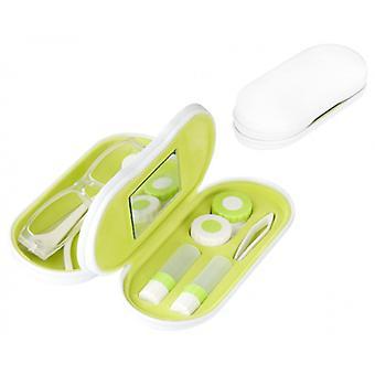 Objektiv/Brille 2-in-1 16,4 cm weiß/grün 5-teilig