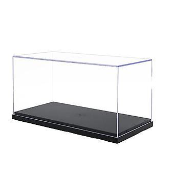 Vitrína, kroky Clear Perspex Box, Prachotesný pre akčné modely -
