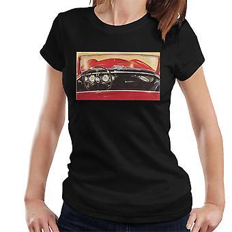 Austin Healey Fahrer Sitz British Motor Heritage Frauen's T-Shirt