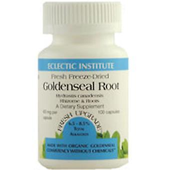 Eclectic Institute Inc Goldenseal Root, 400 Mg, 100 korkkia
