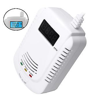 Digital Gas Leak Detector Propane Butane Methane Natural Gas Safe Alarm Sensor