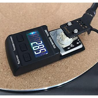 Lcd Digital Dynamomter Turntable Stylus Force Balance Gauge con Calibración