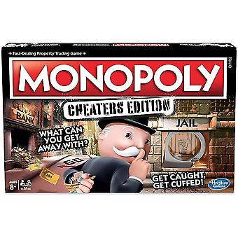 Hasbro gaming monopoly game, cheaters edition board game for ages 8 year and