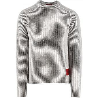HUGO Light Beige Shair Knitted Jumper