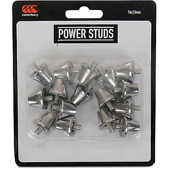 Canterbury Mens Power Rugby Boot Screw Ground Grip Studs Pack
