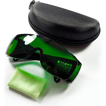 340-1250nm Lunettes de protection pour machines de coupe laser avec boîtier