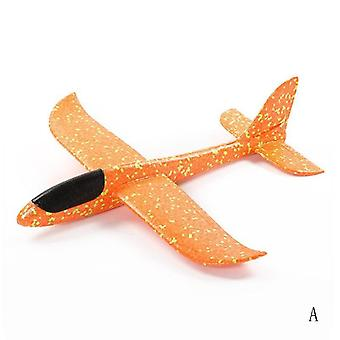 Hand Throw Foam Plane Toys, Outdoor Launch Glider Airplane-toys Puzzle Model