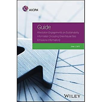 Attestation Engagements on Sustainability Information (Including Greenhouse Gas Emissions Information) (AICPA)