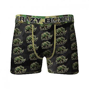 Rhino All Over Print Men's Underwear Boxer Briefs