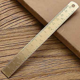 Straight Measuring Metal Ruler For School And Office