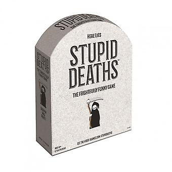 Stupid Deaths Board Game  Family Game Age 12+