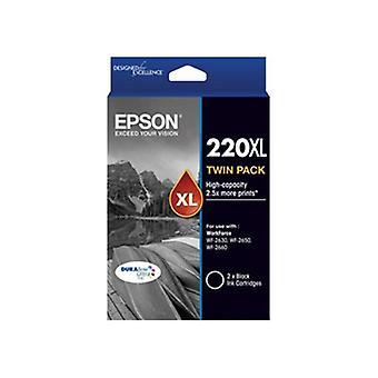 Epson 220Xl High Cap Black Twin Pack