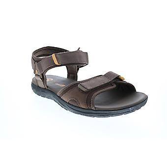 Clarks Step Beat Sun  Mens Brown Canvas Sport Sandals Sandals Shoes