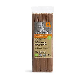 Whole Wheat Spaghetti - Farro Triticum dicoccum 500 g