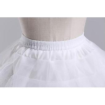 Kids Petticoats For Flower Dresses Little Crinoline Hoop Skirt Lolita