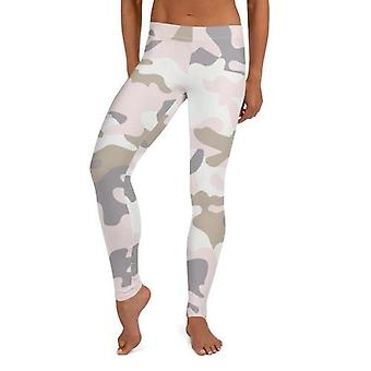 Seamless Pastel Camo Leggings