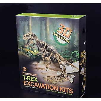 Jurassic Dinosaur Fossil Excavation Kits, Edukacja Archeologia Exquisite Toy