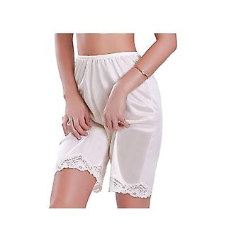 Women Lace Slip Pettipants Sleep Shorts Loose Panties Breathable Short Lingerie