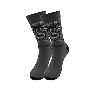 Chaussettes malades Gorilla Exotic Animals Casual Dress Socks