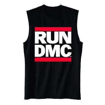 Run dmc | classic logo muscle tank