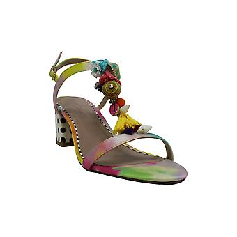 Betsey Johnson Women's Shoes Dynah Peep Toe Casual Ankle Strap Sandals