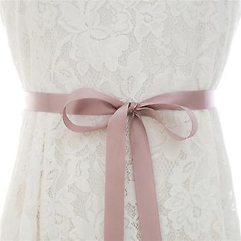 קריסטל כלה, פנינים סאטן כלה, חגורה & אבנט לקישוט חתונה