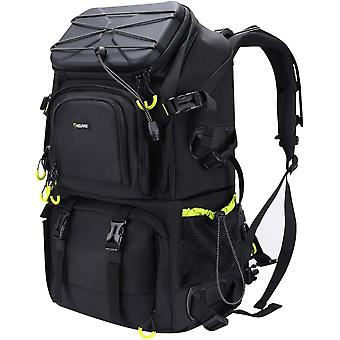 Endurax extra large camera dslr/slr backpack for outdoor hiking trekking with 15.6 laptop compartmen
