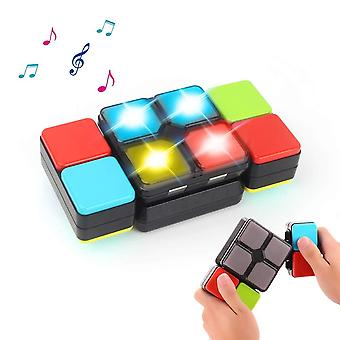 Magic cube electronic music cube novelty puzzle game for teens kids pz-mf