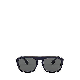 Burberry BE4286 check multilayer blue unisex sunglasses