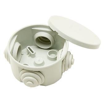 Gewiss GW 44 001 Junction Box Ip44 Press On Lid Grey 65 x 65 x 35mm 4 Holes