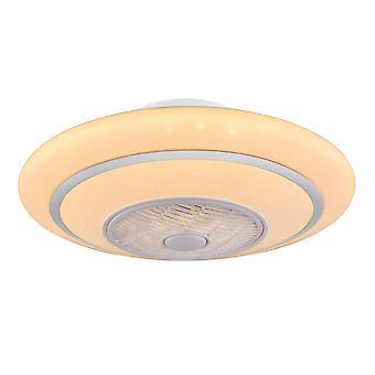 "Ceiling fan Rosario White 60cm / 24"" with LED light"