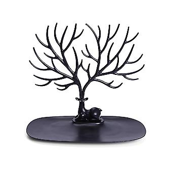 Deer Head Jewelry Display Stand Organizer Make Up Decoration