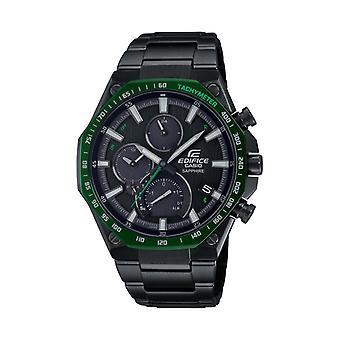 Reloj masculino Casio Eqb-1100xdc-1aer - Pulsera de acero negro