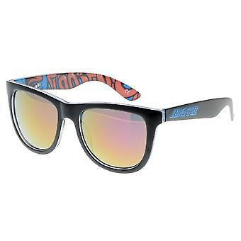 Santa Cruz Screaming Insider Sunglasses - Black / Blue