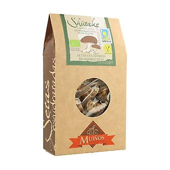 Shiitake Organic Dried Mushrooms 25 g