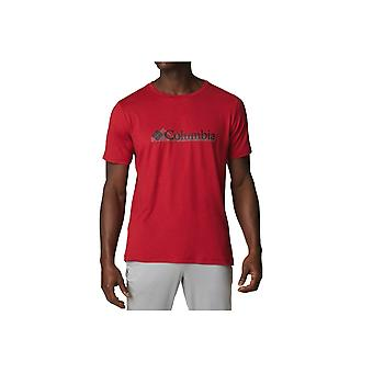 Columbia Tech Trail Graphic Tee 1930802678 universal todo el año camiseta masculina
