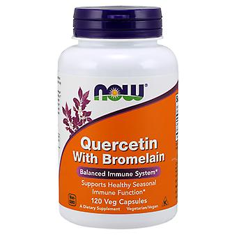 Now Foods Quercetin with Bromelain 120 Kapseln