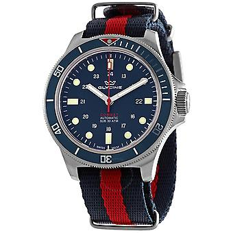 Glycine Combat Sub 46 Automatic Blue Dial Men's Watch GL0257
