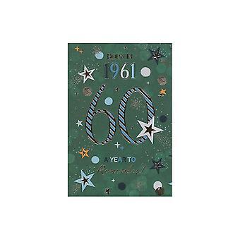 ICG Ltd 2021 Male 60 Year You Were Born Birthday Card
