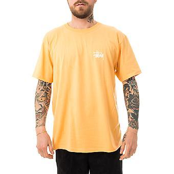Men's t-shirt stussy basic stussy tee peach 1904649.peach