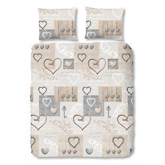 sängkläder Pauline200 x 220 cm beige