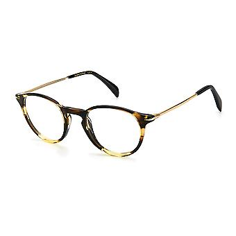 David Beckham DB1049 EX4 Gafas de cuerno marrón