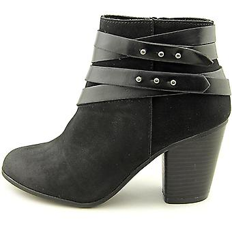 Material Girl Womens Mini Fabric Round Toe Ankle Fashion Boots